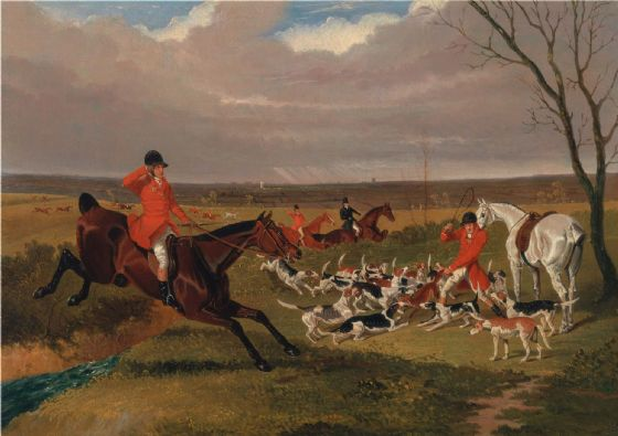 Herring, John Frederick: The Suffolk Hunt - The Death. Fine Art Print/Poster (4788)